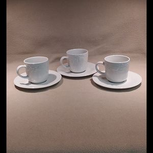 Gibson, Fruit Pattern, Cups and Saucers